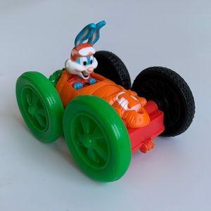 NEW 1990 Warner Bros Elmyra & Buster Bunny Car